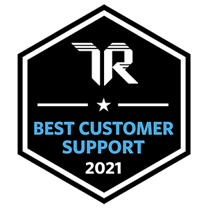 TrustRadius Best Customer Support Badge