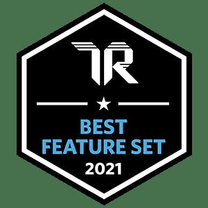 TrustRadius Best Feature Set Badge