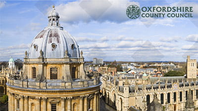 Oxfordshire County Council streamlines its control of paper documents