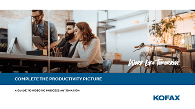 Complete the Productivity Picture: A Guide to Robotic Process Automation
