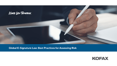 Global E-Signature Law: Best Practices for Assessing Risk