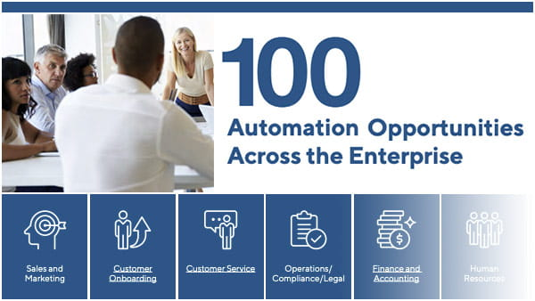 100 Automation Opportunities Across the Enterprise cover image