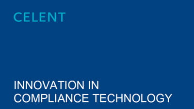 Celent Report: Innovation in Compliance Technology
