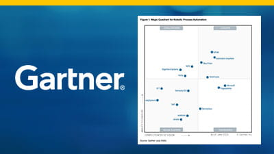 Gartner 2020 Magic Quadrant for Robotic Process Automation