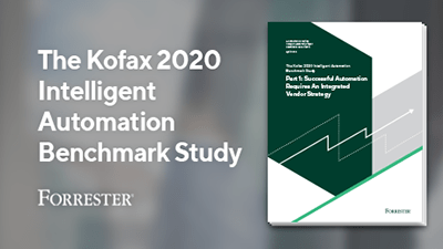 Forrester Intelligent Automation Benchmarking Report: Integrated Vendor Strategies for Success