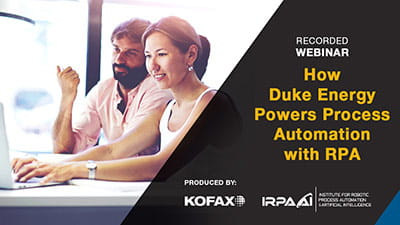 Duke Energy Powers Process Automation with RPA