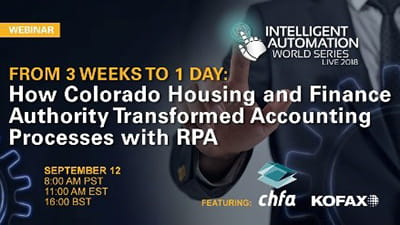 How Colorado Housing and Finance Authority Transformed Accounting Processes with RPA