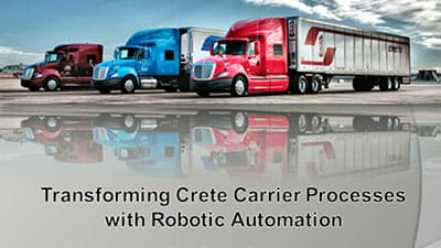 Transforming Your Supply Chain and Logistics Operations with Robotic Process Automation
