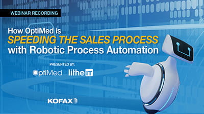 How OptiMed is Speeding the Sales Process with Robotic Process Automation