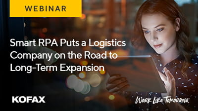 Smart RPA Puts Logistics Company on the Road to Long-Term Expansion