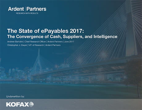 The State of ePayables 2017: Ardent Partners Report