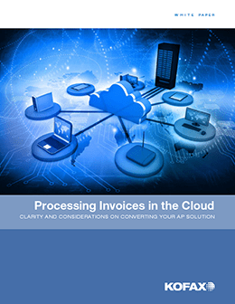 Processing Invoices in the Cloud