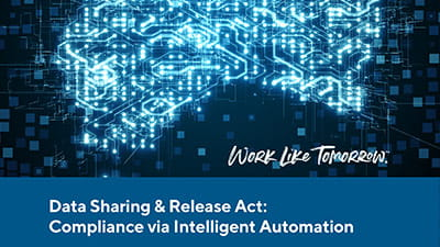 Data Sharing & Release Act: Compliance via Intelligent Automation