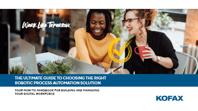 Guide to Choosing RPA Solution