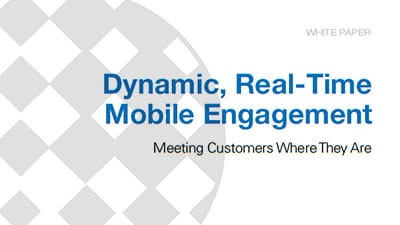 Meeting Constituents Where They Are With Dynamic, Real-Time Mobile Engagement