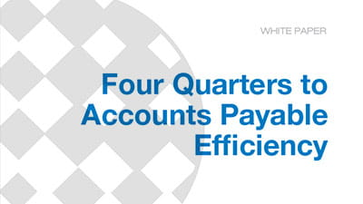 Four Quarters to Accounts Payable Efficiency