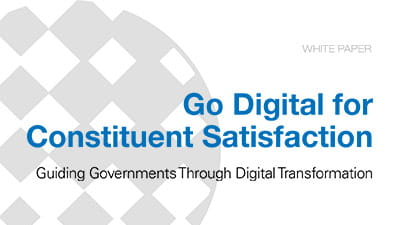 Go Digital for Constituent Satisfaction: Guiding Governments for Digital Transformation