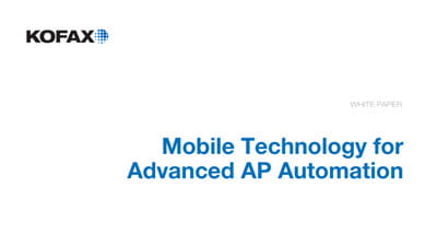 Mobile Technology for Advanced AP Automation