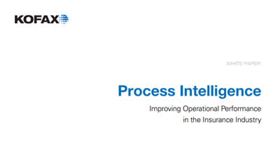 Process Intelligence: Improving Operational Performance in the Insurance Industry