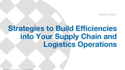 Strategies for Improving the Efficiency of Integrated Supply Chain Networks