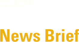 Partner News Brief - Q1 2019