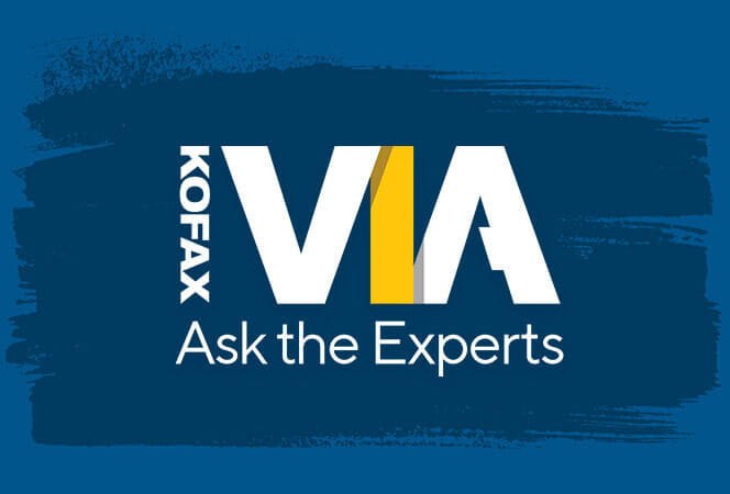 Kofax VIA Ask the Experts