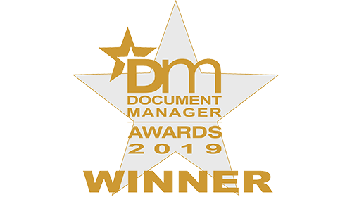 Document Manager Awards 2019 Winner