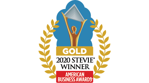 Gold 2020 Stevie Winner American Business Awards