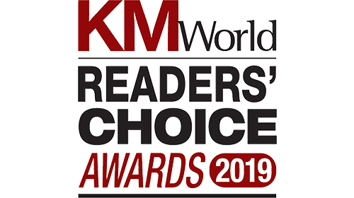 KMWorld Reader's Choice Awards 2019