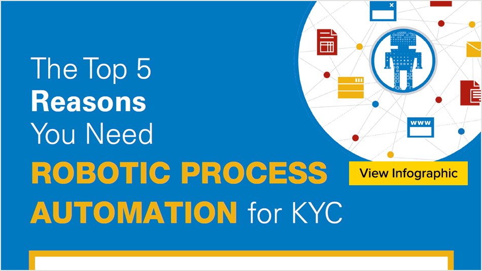 The top 5 reasons you need-Robotic Process Automation for KYC