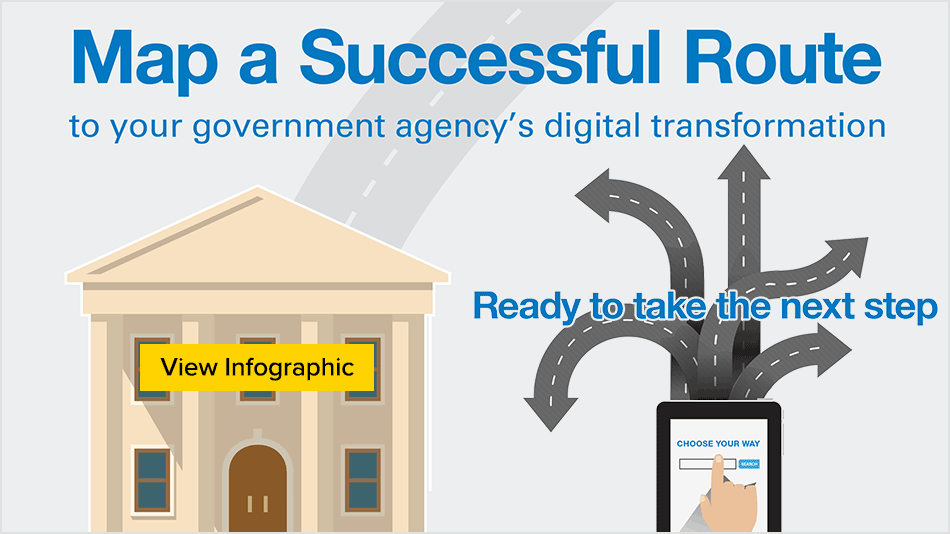 Map a Successful Route to Your Government Agency's Digital Transformation