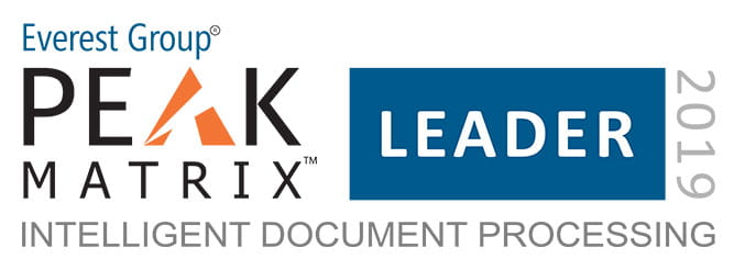 Kofax's Intelligent Automation Platform Named a Leader in Everest Group's 2019 PEAK Matrix for Intelligent Document Processing