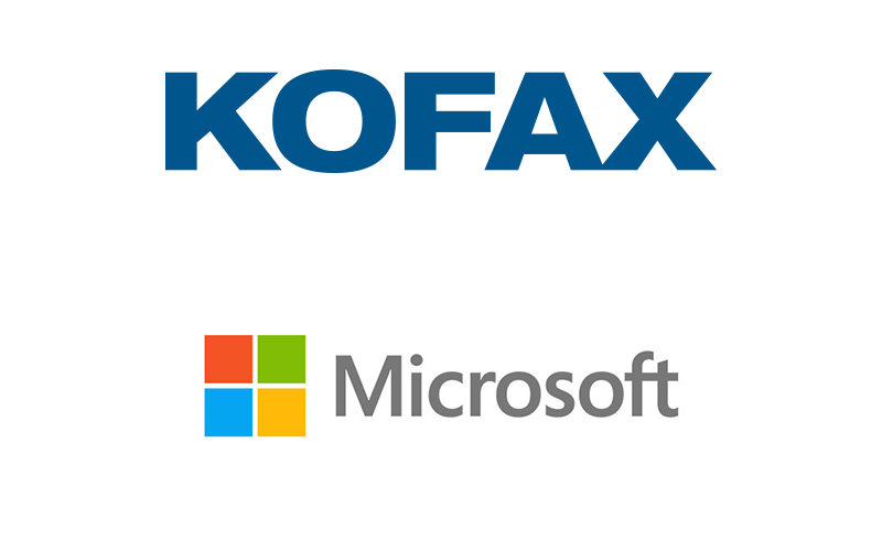 Kofax ControlSuite together with Microsoft